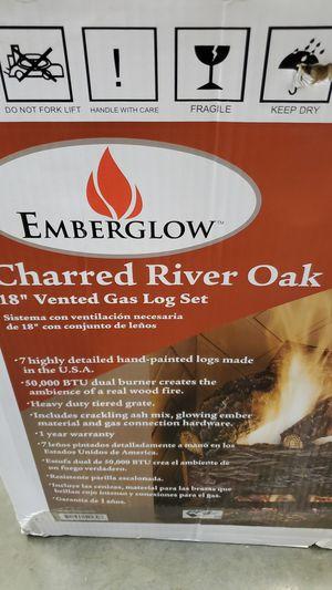 "New. Emberglow charred river oak 18"" for Sale in Perris, CA"
