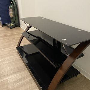 Tv Stand 3-tier With Mount for Sale in Raleigh, NC