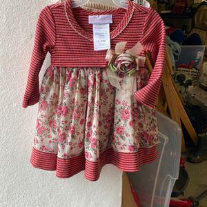 Girls Flower Dress Size 3-6M for Sale in El Cajon, CA