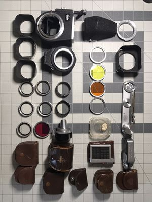 Leica & Rollei Film Camera Accesories for Sale in San Diego, CA