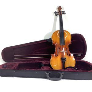 Wooden Full Size 4/4 Complete Violin with Bow & Case for Sale in Kent, WA