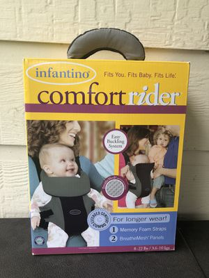 Infantino Comfort Rider baby carrier for only $15!! A $70 Value!! for Sale in Buda, TX