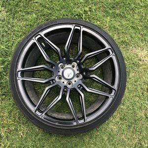 """Asanti Black Label 20"""" rims & Nexen tires for Sale in Wichita, KS"""