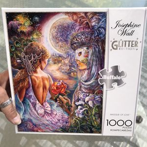"NEW!!! 1000 Piece Puzzle GLITTER ""MASQUE OF LOVE"" for Sale in Torrance, CA"