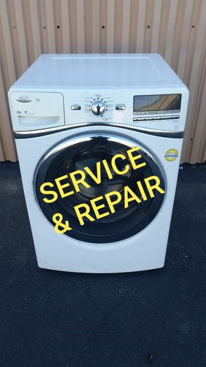 Whirlpool Washer & Dryer needs work or Repair Set GE LG Maytag Samsung Kenmore Roper Amana in front load controls for Sale in Murrieta, CA