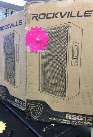 Rockville dj speaker pair great price new in box ! for Sale in Orlando, FL