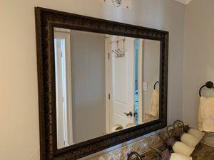 Framed bathroom mirror for Sale in West Lake Hills, TX