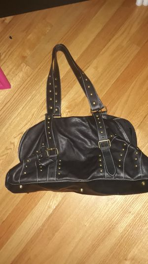 Black/ dark brown leather bag for Sale in Marlboro Township, NJ