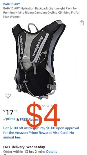 Brand new Hydration Backpack Lightweight Pack for Running Hiking Riding Camping Cycling Climbing Fit for Men Women for Sale in Davie, FL