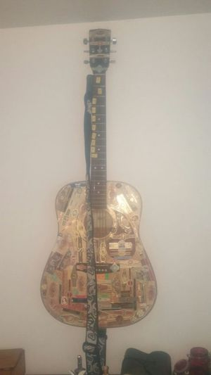 Cigar band guitar ! Acoustic for Sale in Boston, MA