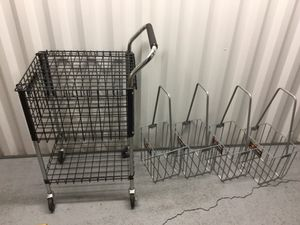 Tennis cart and hopper x4. for Sale in Westlake, OH