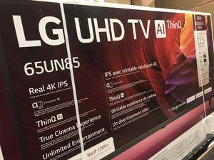 """65"""" lg 4k smart led tv for Sale in Norwalk, CA"""