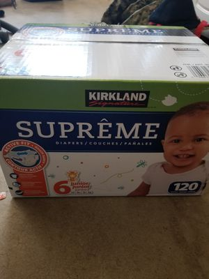 Diapers, size 6, kirkland for Sale in Spring Valley, CA