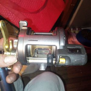 Shimano Tekota Reel With Line Counter for Sale in Seattle, WA