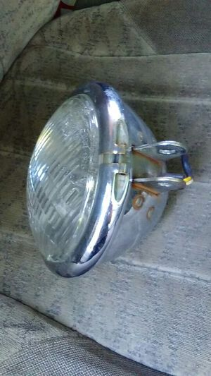 Harley Davidson motorcycle headlight for Sale in Johnston, RI