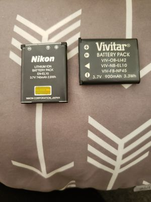 Extra camera battery for Sale in Torrance, CA