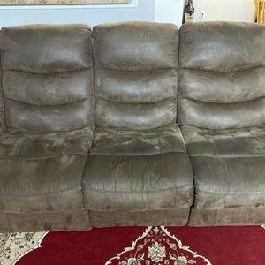 Recliner sofa set 3 piece for Sale in Decatur, GA