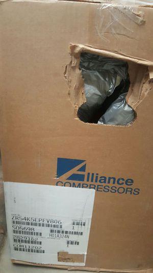 Trane Scroll Compressor 5 ton new for A/C for Sale in Phoenix, AZ