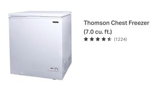 Chest freezer in new in box 7 cubic feet for Sale in West Bloomfield Township, MI