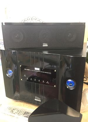 Elite Audio Sound Receiver with Speakers for Sale in Overgaard, AZ