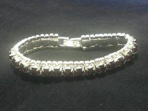Sterling Silver / Purple CZ Bracelet for Sale in Las Vegas, NV