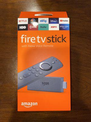 Amazon Fire TV Stick With Alexa Remote for Sale in Mukilteo, WA