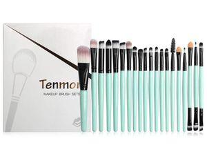 Eye Brush Set, Tenmon 20 Pieces Eyeshadow Eyeliner Blending Crease Kit Makeup Brushes Make Up Foundation Eyebrow Eyeliner Blush Cosmetic Concealer. for Sale in Denver, CO