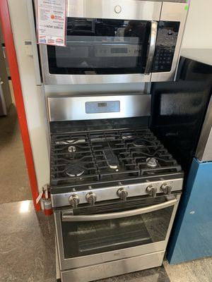 On Sale GE Gas Stove Oven 5 Burner 110v #1305 for Sale in Huntington, NY