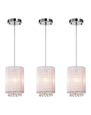 Pendant Lighting white modern chandelier for Sale in Nashville, TN