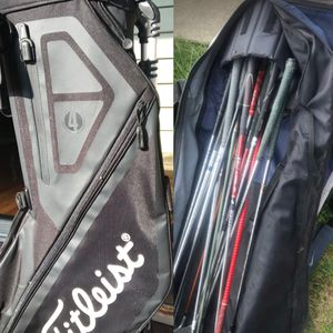 Brand new golf bag!!! With clubs and other bag for Sale in Forest Park, IL