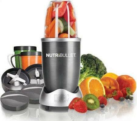 Magic Bullet NutriBullet Nutrition Extraction 600 Whatt 12-Piece Mixer/Blender,