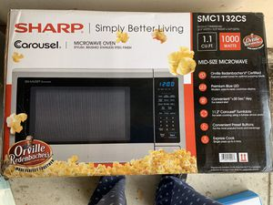 Sharp SMC1132SC Microwave - unopened! for Sale in San Diego, CA