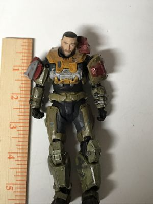 """McFarlane Toys Halo Reach Halo Reach Series 4 Jorge Action Figure Unmasked 6"""" for Sale in Kirkland, WA"""