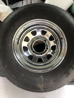 "6 lug 15"" trailer tire for Sale in Pensacola, FL"