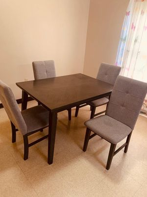 Dining table and 4 chairs for Sale in Erie, PA