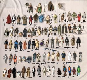 Collector buying old vintage original Star Wars action figures and toys 77 to 87 for Sale in Phoenix, AZ