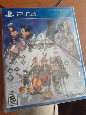 Kingdom Hearts HD 2.8 for Playstaion 4 for Sale in El Monte, CA