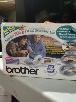 Brother sticker maker for Sale in Wauchula, FL