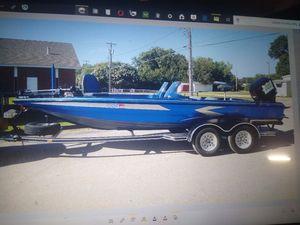 20ft stealth bass boat 200 hp Mercury efi for Sale in Etowah, OK