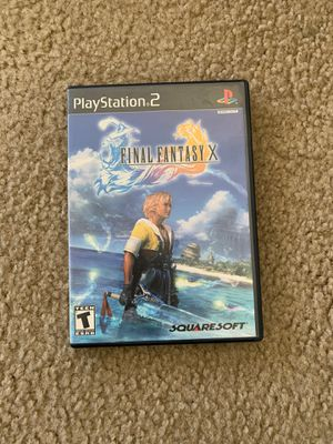 Final fantasy X PS2 for Sale in Gilroy, CA