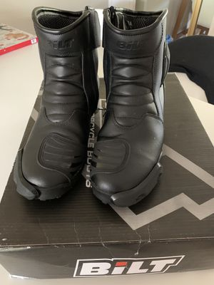 BILT Darnell Motorcycle Boots (size 9) for Sale in Belmont, CA