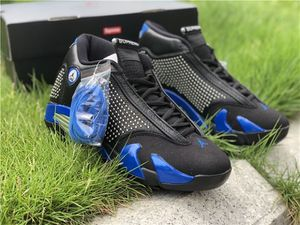 Supreme X Air Jordan 14 Black &Blue for Sale in Cary, NC