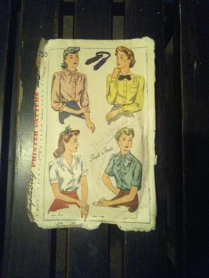 Vintage 1940's Simplicity Pattern for Sale in Jackson, MS