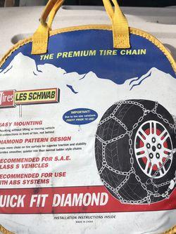 Les Schwab premium tire chain for Sale in Burien,  WA
