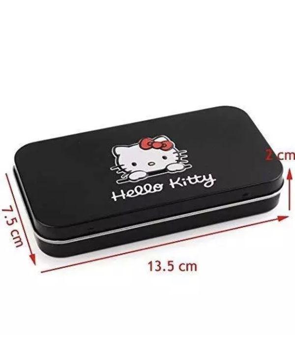 Hello kitty Makeup Brush set 7 pcs black