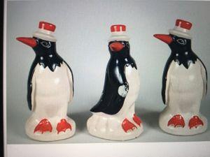 Penguin rare in porcelain antique 3 for Sale in Hollywood, FL