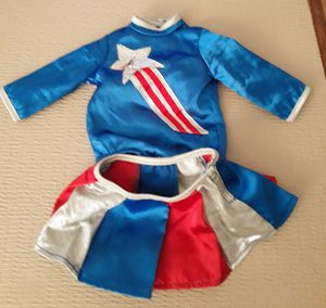 American girl doll cheerleading outfit I'm in fontana message only when ready to pick up for Sale in Fontana, CA