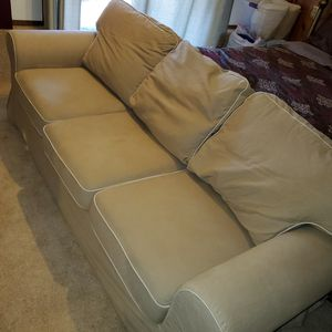 Ikea Extorp Sofa and Club chair for Sale in Tacoma, WA