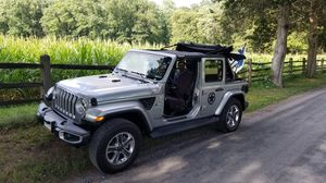 2018 Jeep Wrangler Sahara Unlimited for Sale in Germantown, MD