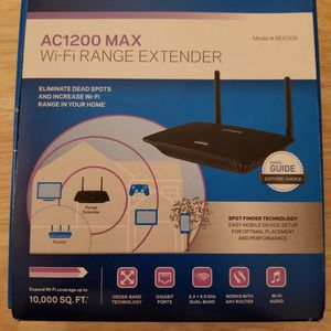Linksys AC1200 Max Wi-Fi Extender for Sale in San Diego, CA